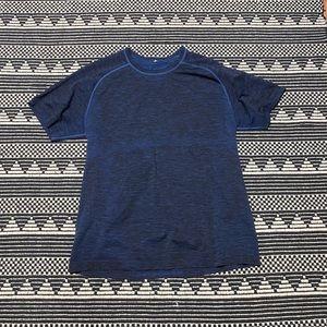 Lululemon Blue Men's Athletic Shirt